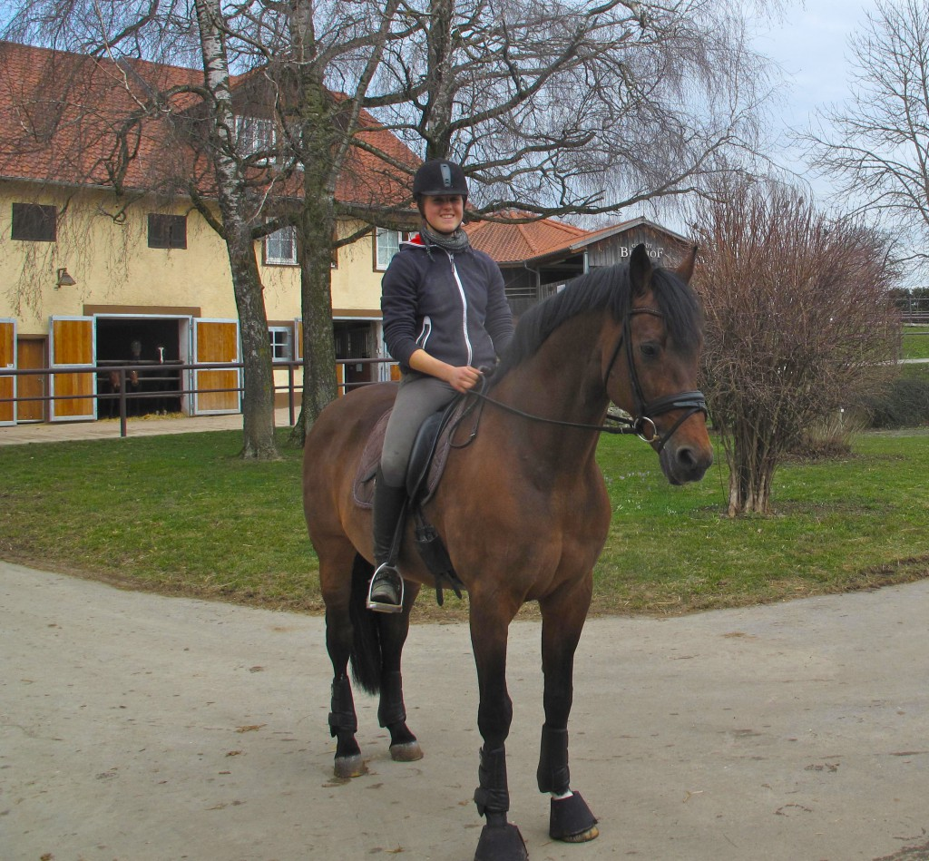 Lingh and out rider Miriam Luft